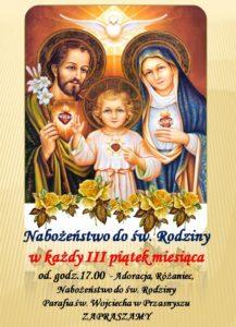 Nabożeństwo do św. Rodziny