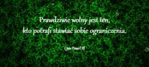 wolność-Jan-Paweł-Ii