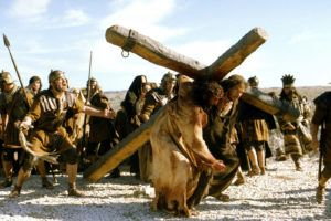 THE PASSION OF THE CHRIST, Jarreth Merz, Jim Caviezel, 2004, (c) Newmarket/courtesy Everett Collection