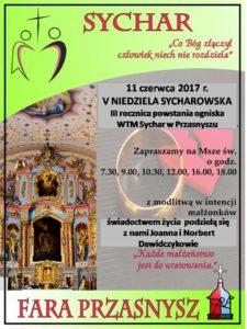 V Niedziela Sycharowska